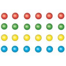 Balanceerspel - vloerspel - stickers.