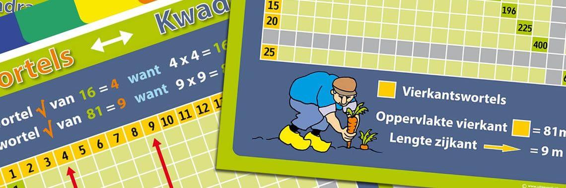 Reken & wiskunde posters