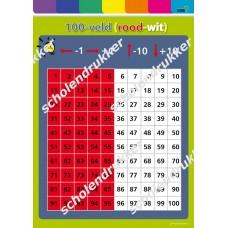 100-veld (rood - wit)