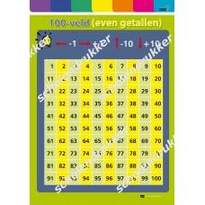 100-veld (grote kaart - A5 formaat).