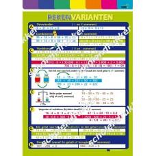 Poster Rekenvarianten.