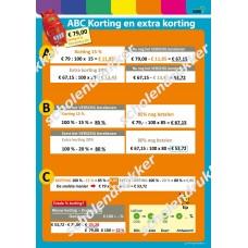 Kortingen berekenen - ABC.