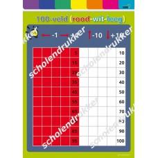 100-veld (rood - wit - leeg)