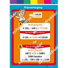 Poster Prijsverhoging - mobiel