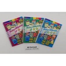 Rekenwaaiers combi-set 3 boekjes