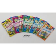 Rekenwaaiers combi-set 5 boekjes