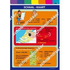 Poster Schaal - kaart.