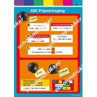 Poster ABC Prijsverhoging