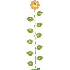 Hinkelbaan 1 - 10 bloem - vloerstickers.