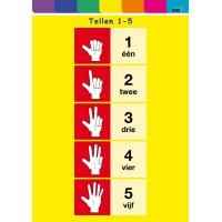 Tellen 1 - 5 poster.