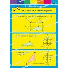Poster Lichaamsdiagonaal.